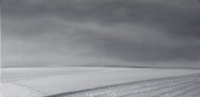 la_neige_huille_sur_toile_40X80