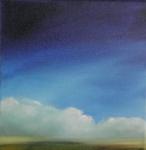 nuages_d_ete_huile_sur_toile_20X20