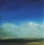 nuages_d_ete_2_huile_sur_papier_10X10