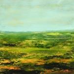 paysage_acrylique_sur_papier_46X46