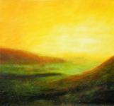 paysage_acrylique_sur_papier_70X70