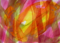 foret_acrylique_sur_papier_50X31