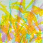 dans_les_forets_acrylique_sur_papier_72X72
