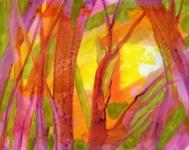 foret_acrylique_sur_papier_50X39