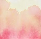 Lumière de l'aube, aquarelle sur papier, 26X26