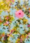Romantisme absolu, acrylique sur toile, 92X65 cm. Vendu.