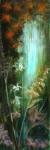 Le tombeau des naiades, 40X120, acrylique sur toile. Vendu.