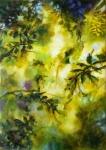 Splendeur d'automne, huile sur toile, 92X65 cm. Disponible.