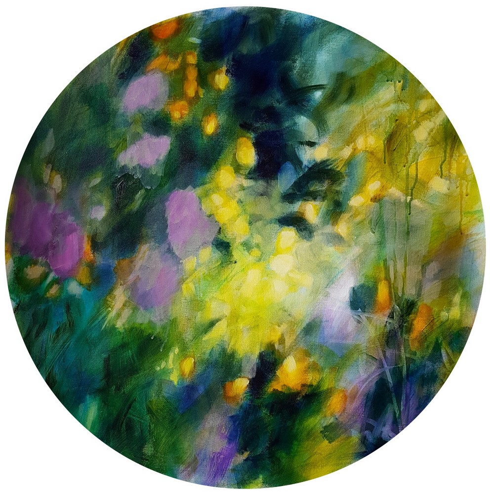 memories_of_secret_acrylique_on_round_canvas_70cm_diameter