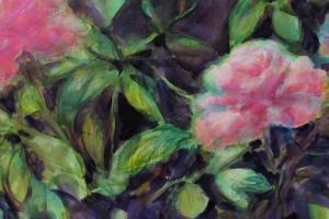 detail les fleurs toile 50X100 (5)