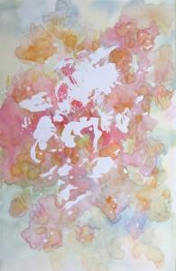 les roses anciennes aquarelle sur toile 30X50 redim (1)