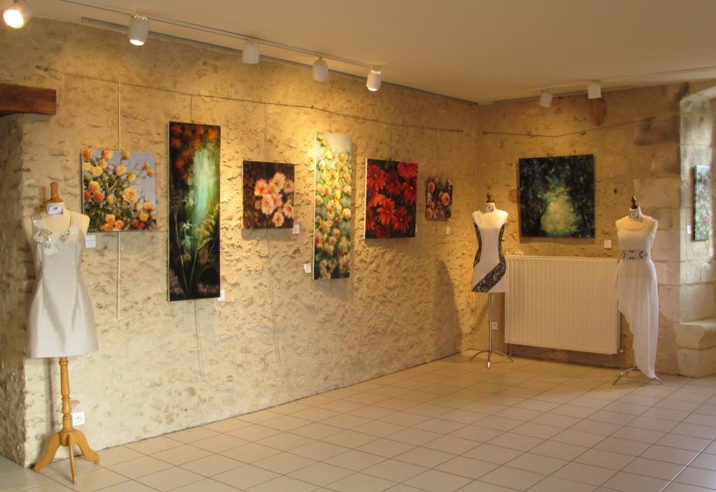 Exposition peinture Fabienne Monestier