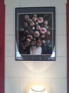 Le bouquet, exposé au Choiseul