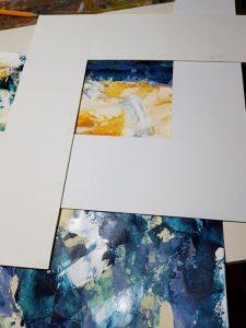 """Série """"Pure abstraction"""" processus de travail"""