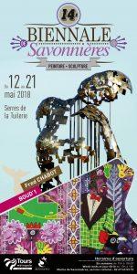Affiche biennale Savonnières 2018