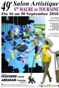 49ème Salon artistique de Ste Maure de Touraine