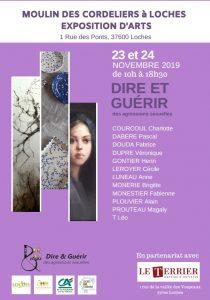«Dire et guérir», exposition artistique, Loches