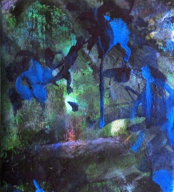 Détail peinture Le domaine des fées