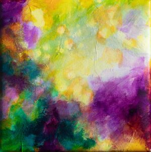 Joyous floral abstract