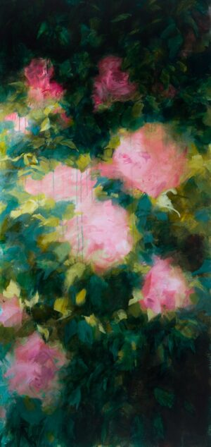 Vaporous roses