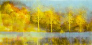 The yellow trees