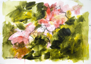 Floral sketch 4